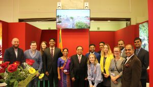 THE EMBASSY OF SRI LANKA IN WARSAW PARTICIPATES IN THE 25TH INTERNATIONAL TRAVEL SHOW – TT WARSAW 2017