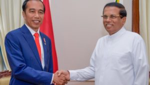Presidents of Sri Lanka and Indonesia meet