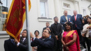 SRI LANKA EMBASSY IN WARSAW CELEBRATES SRI LANKA'S 70 YEARS OF INDEPENDENCE