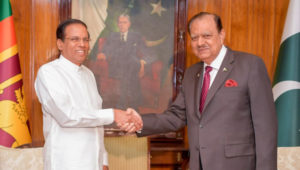 President Maithripala Sirisena concludes Visit to Pakistan