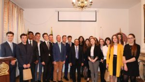 "The Embassy of Sri Lanka in Poland participates in the 7th edition of the ""Action Diplomacy"" of the Warsaw School of Economics"