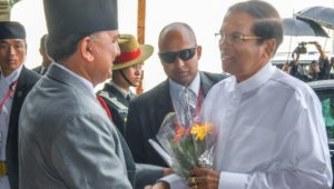 Warm welcome for President in Nepal