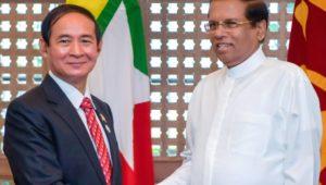 Leaders of Sri Lanka & Myanmar agreed to strengthen economic and trade relations through Sri Lanka-Myanmar Joint Trade Agreement