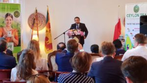 Minister of Plantation Industries, Navin Dissanayake visits Poland