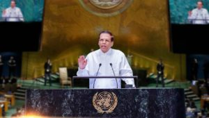 Address by H.E. Maithripala Sirisena, President of Sri Lanka at the 73rd Session of the  United Nations General Assembly   25 September 2018, New York