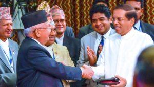 BIMSTEC LEADERS DECIDE TO RATIONALIZE THE ORGANIZATION AS SRI LANKA ASSUMES CHAIRMANSHIP